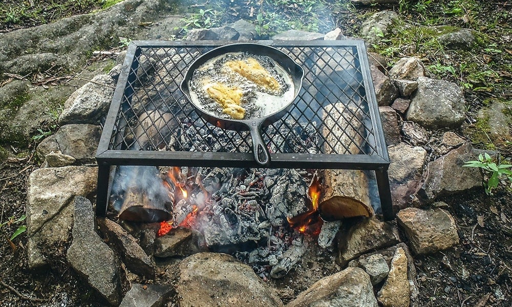 How to Cook Fish on a Campfire