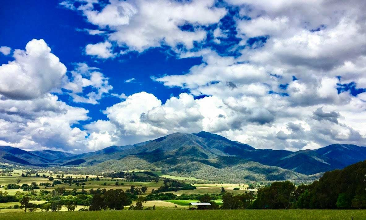 The Victorian high country: up, up and away…from everything