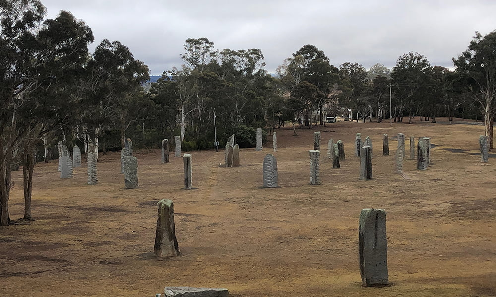 Celtic stones Glen Innes