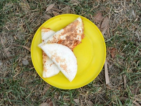 Campfire Quesadillas: recipes for campers who can't cook