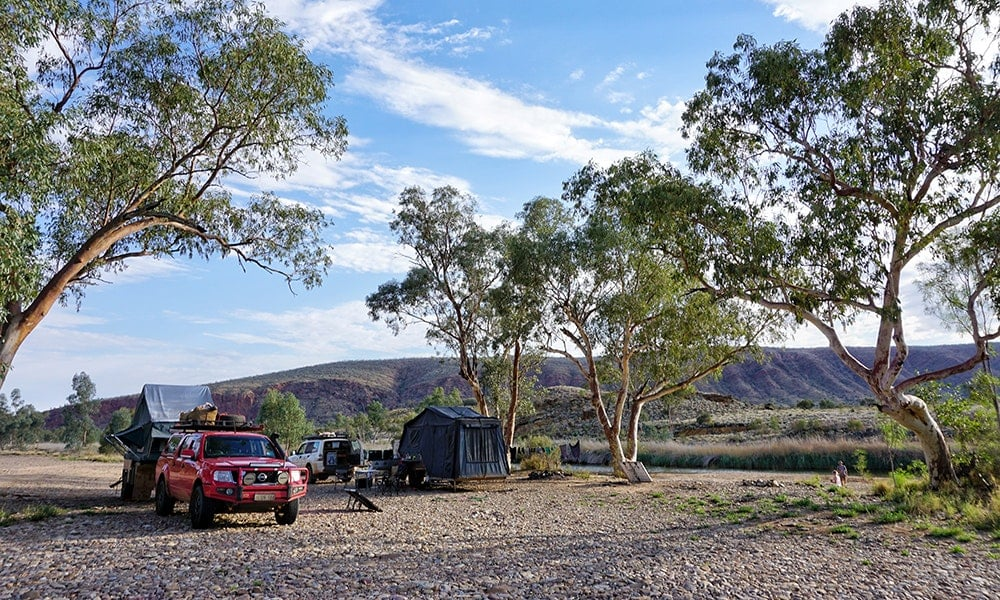 The West MacDonnell Ranges