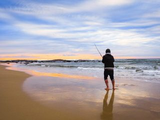We reckon surf fishing is awesome. You don't need to be a master angler to go home with a decent catch and there's plenty of opportunity to make it as involved or relaxed as you like – whether you want to cast and retrieve with soft plastics all day or just cast out your bait, whack the rod in its holder, sit back on the beach and sip on a cold one is entirely up to you. But if you're heading out for the first time, there are a few common mistakes that when avoided, can vastly improve your chances of catching a fish. Mistake 1: Don't watch the tides Heading out for a fish at lunchtime on a sunny summer's day, just because that's when you feel like going, is rarely going to be a terrible idea. But keep in mind, your optimal conditions are quite different to a fish's. There are also many more swimmers and other beach-goers around in the middle of the day which can make it difficult to find a spot to cast your line. While there's no law to say you can't fish near swimmers, it's better for everyone if you give them a wide berth. There is much debate about the best time to fish, but most anglers seem to agree that low light periods around a high tide are the best times for catching fish and these tend to be even better around a full moon. Whether you head out early in the morning or wait until evening is largely down to personal preference. But if you want to give yourself the best chance of coming home with dinner, look for a high tide around dusk or dawn and head out to meet it. Tide times can be looked up by location on most weather apps or at the Bureau of Meteorology. Cloudy days are also good for fishing as these conditions extend the periods of low light and reduce shadows and line visibility that can spook the fish. Of course, you do have to ask yourself – if I spend a beautiful sunny day fishing on the beach and go home with nothing, is that a problem? It's a question only you can answer. surf-fishing-what-not-to-do-4-jpg Catching more fish isn't the only perk t