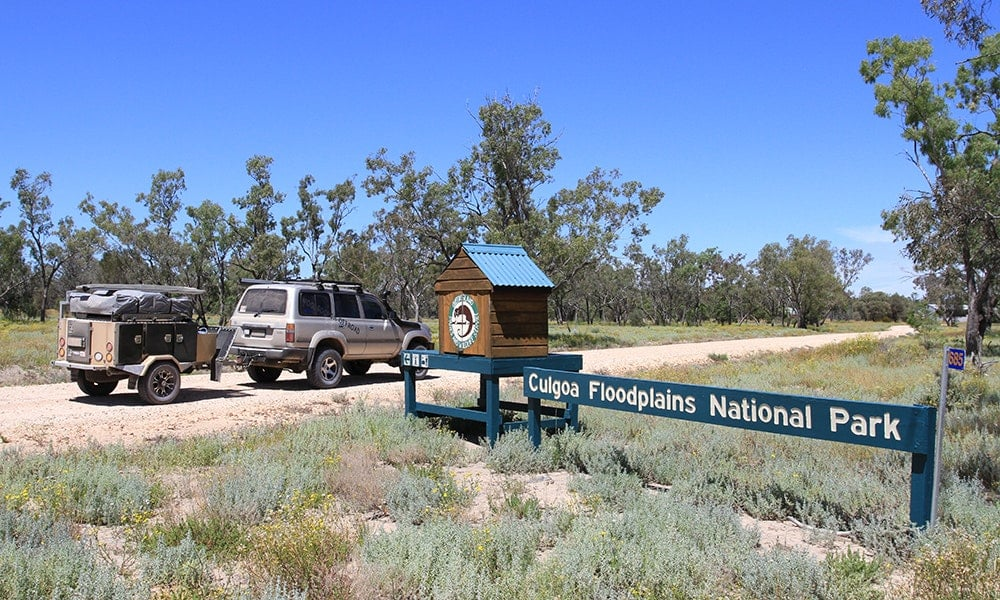 Culgoa Floodplain National Park – remote camping at its best