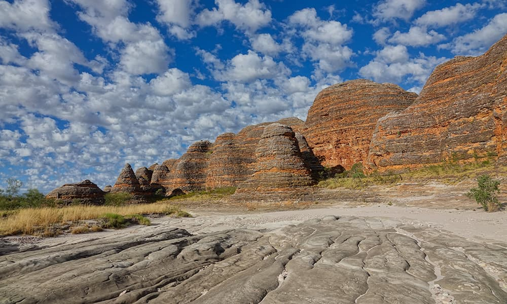 Behive formations in the Bungle-Bungle Range, Purnululu National Park
