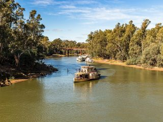 Murray River at Echuca