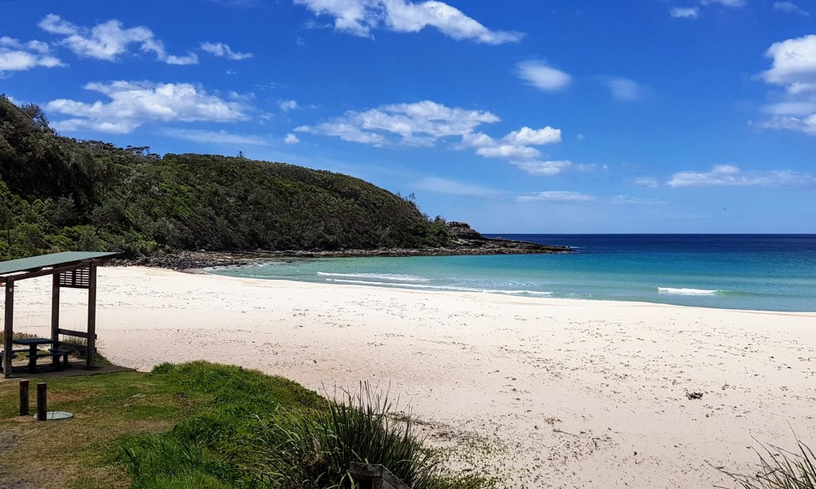 Mollymook beach, just down the road from Ulladulla