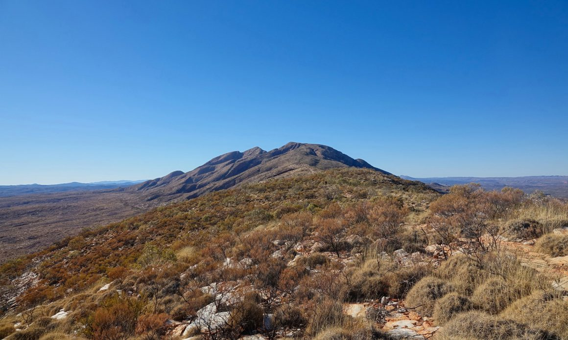 Mount Sonder scenery in Northern Territory