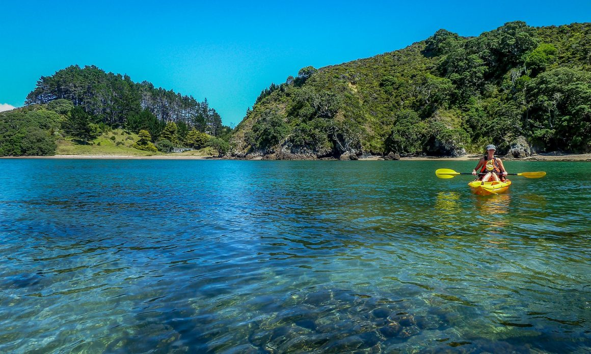 Mahinepua Bay is an amazing place to go for a kayak
